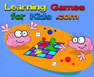 go to Learning Games for Kids web site