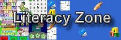 go to the Literacy Zone web site